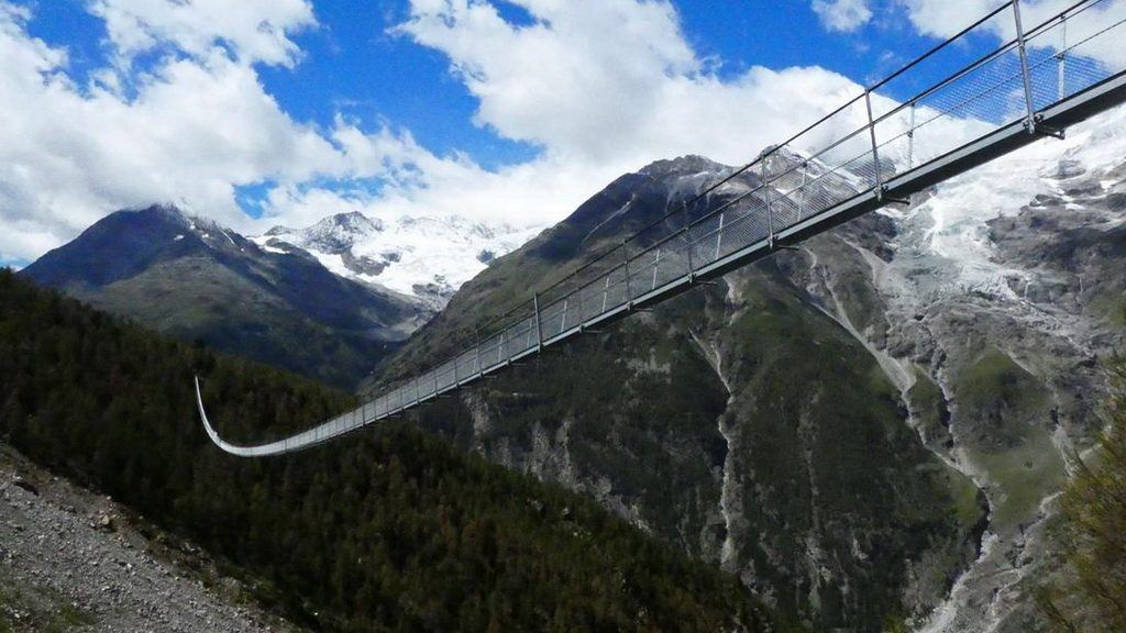 Hängebrücke bei Randa