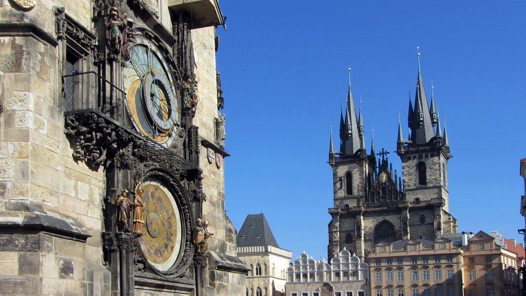 Altstätter RIng mit Teynkirche