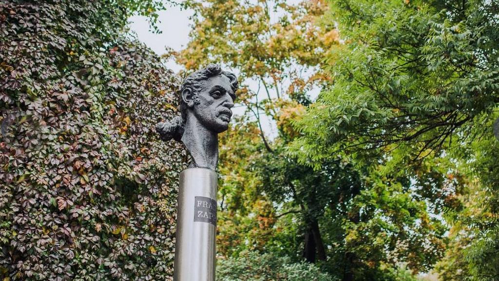 Vilnius Zappa-Denkmal