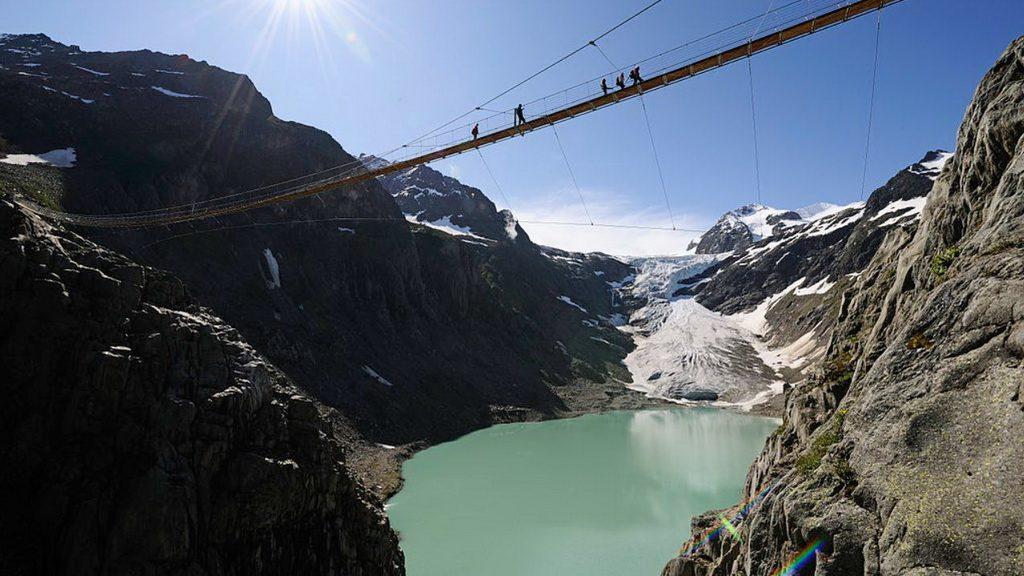 Triftbrücke im Gadmertal