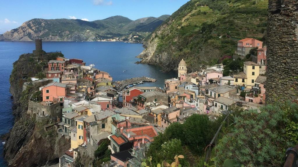 Blick von Vernazza nach Monterosso